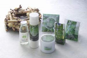 岩手県久慈市「平庭高原」の白樺樹液で作った天然成分100%のスキンケアコスメシリーズ
